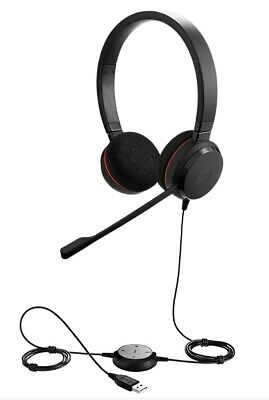 *NEW* JABRA EVOLVE 20 SE HEADSET, SKYPE, LYNC, MS TEAMS HSC016 - Version B • 33.95£