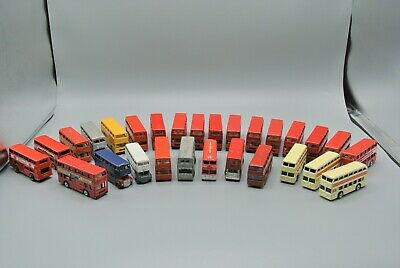 $ CDN106.69 • Buy Matchbox Hot Wheels Maisto & Corgi Double Decker Bus Lot Of 28 Diecast VG-EX