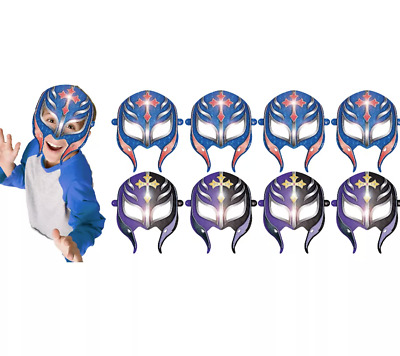 £4.72 • Buy WWE Wrestling Paper Masks (8ct) Boys Birthday Party Favors Championship Warrior