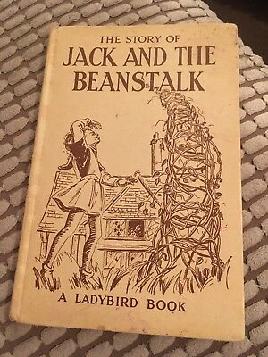 Ladybird Book The Story Of Jack And The Beanstalk • 18£