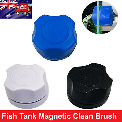 AU9.99 • Buy Fish Tank Magnetic Clean Brush Glass Floating Window  Cleaner Scrubber Tool AU