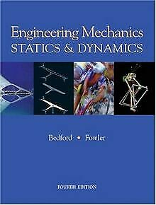 Engineering Mechanics Statics And Dynamics By Bedford... | Book | Condition Good • 34.62£
