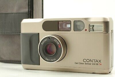 $ CDN1073.08 • Buy 【ALMOST MINT Case Set】 Contax T2 Point And Shoot 38mm F2.8 Lens From Japan #1043