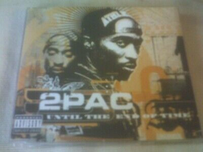 2pac - Until The End Of Time - 4 Track Cd Single • 1.99£