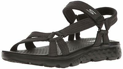 Skechers Performance Women's On The Go 400 Radiance Flip Flop, Black, Size 11.0 • 33.99£