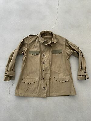 $125 • Buy Vintage Original French Forces Military Army M47 M51 Field Jacket NOS Deadstock