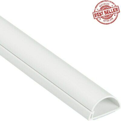 £7.89 • Buy Cable Wire Trunking Cover Wall Tidy 1 Meter Decorative Self Adhesive Electrical
