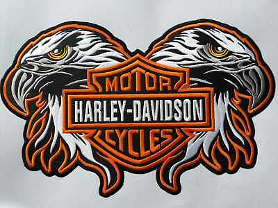 $ CDN31.72 • Buy Harley Davidson Patch 1Piece Eagle Patches For Jacket Motorcyclies,free Shipping
