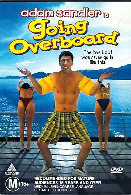 AU12 • Buy Going Overboard DVD Region 4 Adam Sandler