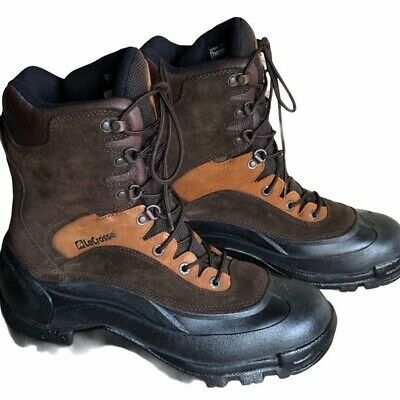 LaCrosse Boots Insulated Camping Hunting Hiking Trail 10  Shaft Brown Mens 7 • 57.88£