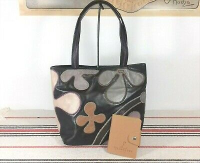 French Lamarthe Nappa Leather Bag/Grab Bag/ Purse/ Tote. All Leather • 30£