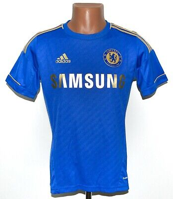 Chelsea London 2012/2013 Home  Football Shirt Jersey Adidas Size L Kids • 14.99£