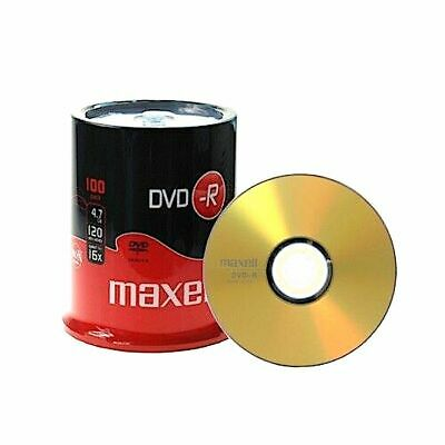 £20.57 • Buy Maxell - 275611 - Dvd-r, 100 Pack Spindle