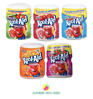 KOOL AID TUB - DRINKS - AMERICAN SWEET SUMMER DRINK - VARIETY OF FLAVOUR - 538g • 9.49£