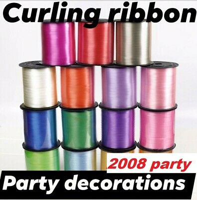 £1.79 • Buy New 60M Curling String Colour Ballon Ribbon Balloon Weight Gift Decoration Fancy