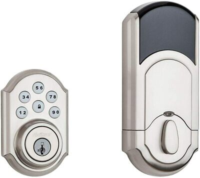$ CDN139.25 • Buy *1-Piece* Kwikset SmartCode 910 Touchpad Electronic Deadbolt Keyway 99100-078