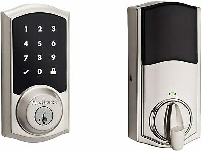 $ CDN169.38 • Buy *1-Piece* Kwikset SmartCode 916 TouchScreen Electronic Deadbolt Keyway 99160-020