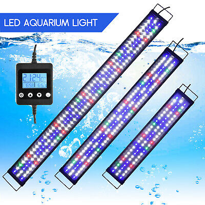 AU131.21 • Buy Aquarium Fish Tank LED Lighting Full SpectrumWhite&Blue Marineland Plants Lamp