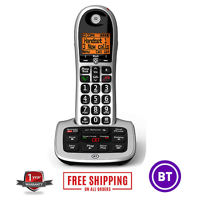 BT 4600 Cordless Phone Single Handset Answer Machine Home Office House Landline • 49.97£