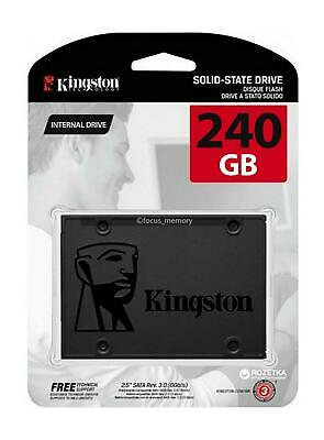 £32.47 • Buy Kingston SSD A400 240GB Solid State Drive 2.5 Inch SATA 3 Speeds Up To 500MB/s