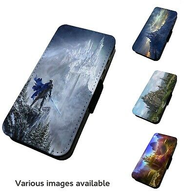 £9.75 • Buy Printed Faux Leather Flip Phone Case IPhone- V1 Various Fantasy Castles Medieval