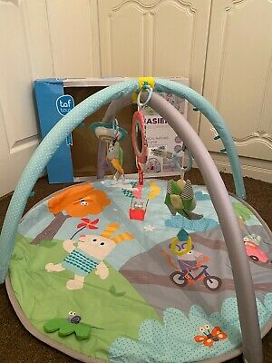£16.50 • Buy Taf Toys Musical Newborn Baby Gym/Play Mat- With Hanging Take-along Toys. Boxed