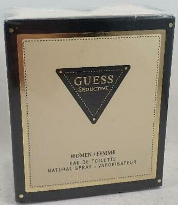 Guess Seductive Eau De Toilette Spray For Woman 75 Ml SEALED • 19.95£