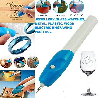 Handheld Engraving Etching Hobby Craft Pen Rotary Tool For Wood Metal Glass • 2.99£