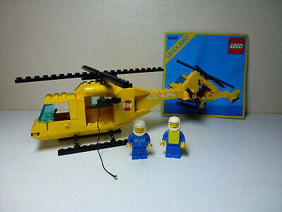 LEGO Classic Town Rescue-I Helicopter (6697) With Original Instructions • 16.99£