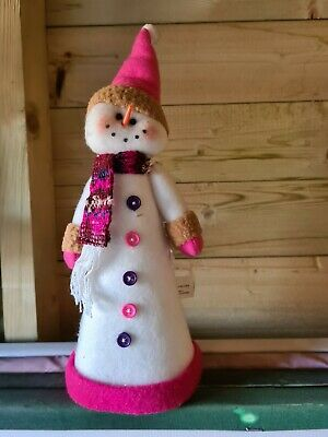 Snowman Christmas Tree Topper • 3£