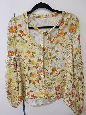 AU120 • Buy Spell And The Gypsy Sayulita Blouse XS Worn Once