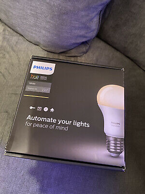 AU75.85 • Buy Philips Hue White Starter Kit - 2 Bulb And Bridge