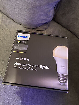 AU75.74 • Buy Philips Hue White Starter Kit - 2 Bulb And Bridge