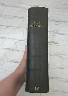 £34.99 • Buy Antique New Testament Bible Eyre & Spottiswoode BFBS Gilt Edged Pages Hardback