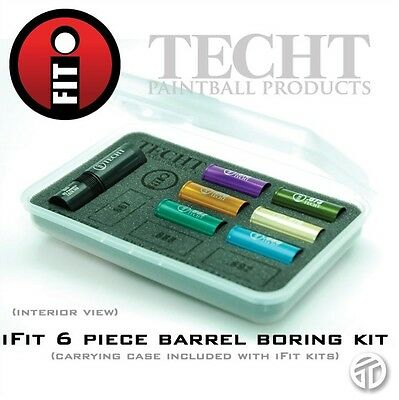 $ CDN126.22 • Buy TECHT IFIT 6pc Barrel Boring Kit Upgrade With Autococker Adapter