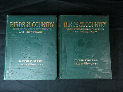 £35 • Buy Birds Of Our Country Their Eggs, Nests, Life, Haunts & Identification 2 Vol