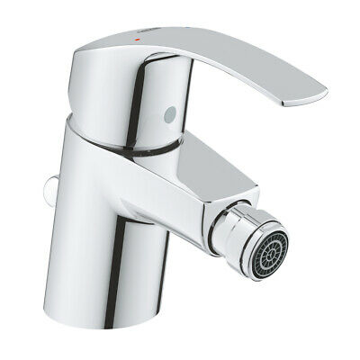 GROHE 32929002 Eurosmart Bidet Mixer Tap With Pop Up Waste - NEW • 59.76£