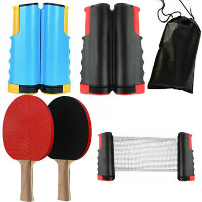 Table Tennis Kit Ping Pong Set Retractable Net Rack Portable Sports Indoor Games • 6.99£