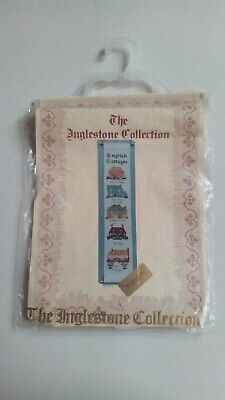 The Inglestone Collection Country Cottages Bell Pull Counted Needlework Kit • 12.99£