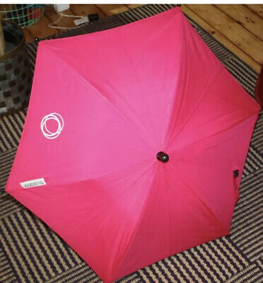 Bugaboo Hot Pink Parasol - Requires A Clip To Use • 12.99£