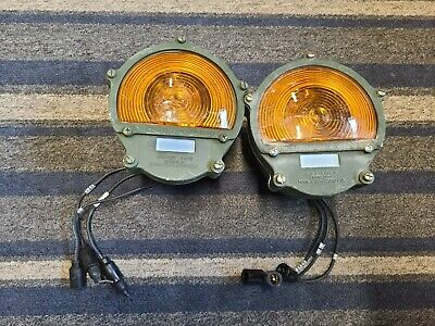 $99.99 • Buy Military Hummer Orange Stop & Tail Lights MFR-5A910