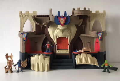IMAGINEXT Lions Den Castle With Knights & Accessories • 14.99£