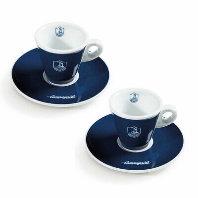 £29.99 • Buy NEW Official Campagnolo Espresso Coffee Cups Set 0 Cycling Gift Merchandise