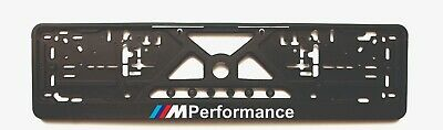 $19 • Buy 2x European License Number Plate Frame Holder Surround For BMW M Performance
