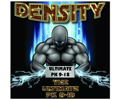 DENSITY - THE ULTIMATE PK 9 - 18. BOOST WEIGHT Includes Iron And Sulphur. 250ml • 11.99£