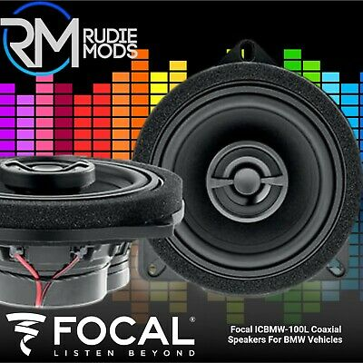 Focal IC BMW 100L BMW 1 Series F20 2-Way Factory Fit Upgrade Front Car Speakers • 149.90£