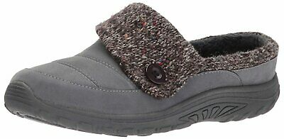 Skechers Women's Reggae Fest-Purity Scuff Slipper, Charcoal, Size 9.0 HqAx US • 35.99£