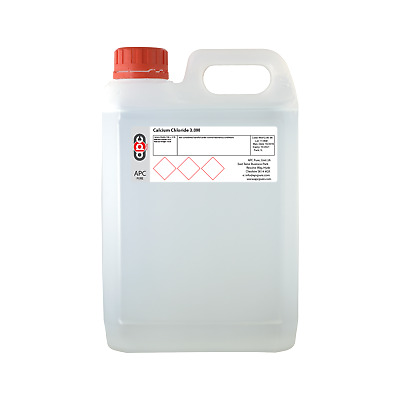 £22.25 • Buy 2.5L (2500ml) Calcium Chloride 3.0M Solution *Quick Ship* *Professional Seller*