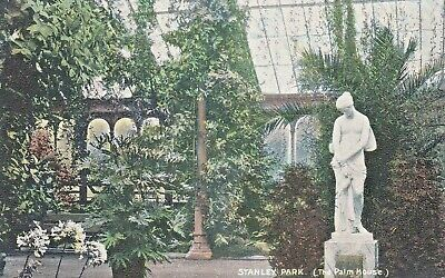 £2.50 • Buy Liverpool    Stanley Park  The Palm House Pre 1918