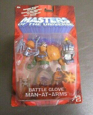 $34.95 • Buy Battle Glove Man-at-Arms He-Man 2001 MOTU Masters Of The Universe Mattel 200x